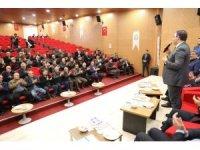 Şanlıurfa'da inşaat ve yapı sektörüne yönelik konferans