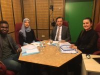 ESOGÜ Rektörü Prof. Dr. Kemal Şenocak TRT Türkiye'nin Sesi Radyosunda canlı yayına katıldı