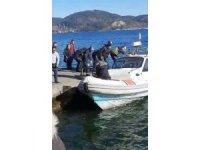 Sarıyer'de denizde can pazarı