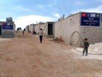 İdlib Esenler köyüne 300 briket ev