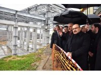 Taşönü katı atık tesisi yıl sonunda faaliyete başlayacak