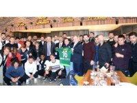 Bursaspor, moral yemeğinde buluştu