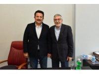 Başkan Bozkurt'tan Uysal'a hayırlı olsun ziyareti