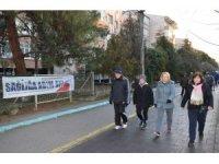 İhsaniye'de sağlık yürüyüşü
