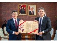 Başkan Suer'den Rektör Taş'a ziyaret