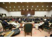 Dünya Kur'an okuma birincileri Ürgüp'te programa katıldı