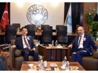 Vergi Dairesi Başkanı Günçavdı'dan Başkan Gülsoy'a Ziyaret
