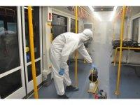 Toplu taşıma araçları nanoteknoloji ile dezenfekte ediliyor