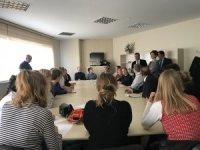 Danimarkalı öğrencilere Maltepe'de yerinde dönüşüm sunumu