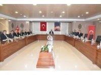 Balıkesir'de üniversite güvenlik toplantısı yapıldı