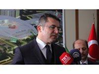 Erzurum'da yapımı tamamlanan şehir hastanesi, 500 kişilik karantina hastanesine dönüştürüldü