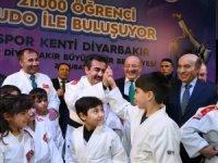Diyarbakır'da 21 bin öğrenci judo ile buluşuyor