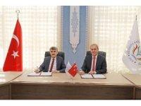 DPÜ ile KSBÜ arasında arazi tahsis protokolü