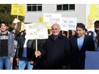 Uşak Üniversitesi öğrencilerinden yerli üretime destek yürüyüşü