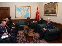 Bakan Akar, Ürdün Genelkurmay Başkanı Al-Hnaity'i kabul etti