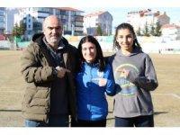 Ailesi ikna edilince Türkiye birincisi oldu