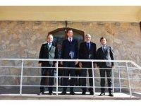 Kaymakamlardan Başkan Bozkurt'a ziyaret