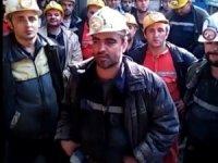 Arkadaşlarının işten çıkarılmasını kabullenmeyen işçiler kendini maden ocağına kapattı