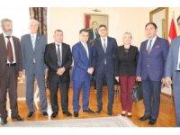 SANKON'dan Azerbaycan Ankara Büyükelçiliğine ziyaret