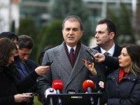 AK Parti Sözcüsü Çelik: Rejime verilen süre dolunca TSK görevini yerine getirecek