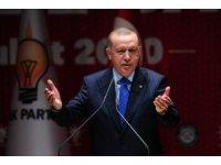 """Cumhurbaşkanı Erdoğan: """"Bay Kemal'in ağzından bazı şeyler çıkıyor, geliyorlarmış"""""""