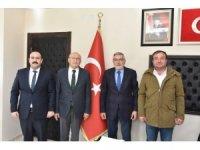 Çakırözer'den başkan Bozkurt'a ziyaret