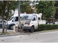 Aydın'da trafik kazası;1 yaralı