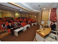 Dış ticaret bilgilendirme seminerine büyük ilgi
