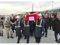 İdlib şehidi Adıyaman'da törenle karşılandı