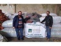 Konyalı hayırseverlerden İdlib'e destek
