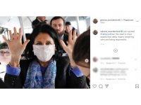 Gürcistan Devlet Başkanından, Korona virüse karşı maskeli önlem