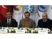 """TOBB Başkanı Hisarcıklıoğlu: """"İş dünyası olarak, milletimizin, devletimizin ve ordumuzun yanındayız"""""""
