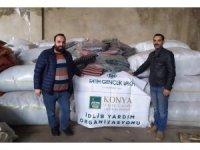 İstanbul'dan hayırseverlerden İdlib'e destek