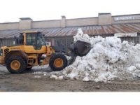Hakkari sanayisi kar dağlarından temizleniyor
