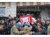İdlib şehidi memleketi Bingöl'de ebediyete uğurlandı