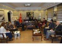 Başkan Demir, birim müdürleriyle toplantı yaptı