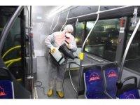 Salgın hastalık riskine karşı dezenfeksiyon çalışması