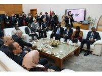 Nijer Cumhuriyeti heyetinden Başkan Ekrem Yüce'ye ziyaret