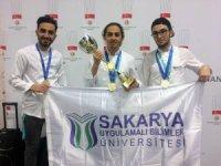 SUBÜ'lü aşçılardan 3 altın madalya