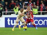 Süper Lig: DG Sivasspor: 2 - Galatasaray: 2 (Maç sonucu)