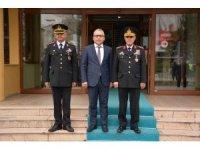 Jandarma Genel Komutanı Niğde Valisini ziyaret etti