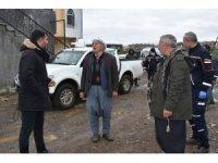 Siverek'te selin vurduğu evlerde hasar tespiti yapıldı