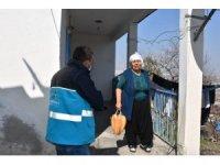 Kocasinan Belediyesi'nden yaşlılara şefkat eli