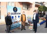 Nazilli Belediyesi'nden Korona virüs ile mücadelede örnek çalışma