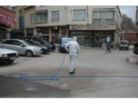 Sinop'ta dezenfekte işlemleri sürüyor