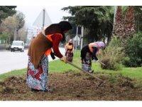 Samsun'da refüjler kadın eliyle güzelleşiyor