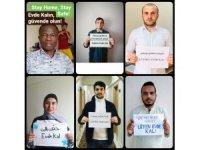 62 öğrenciden 39 dilde 'Evde Kal' mesajı