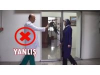 Kayseri Devlet Hastanesi korunma tedbirleri ile ilgili doğru ve yanlış bilinenlerin anlatıldı kısa video yayınladı