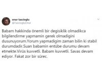 Dahiliye Profesörü Cemil Taşcıoğlu'nun son durumu hakkında oğlundan açıklama