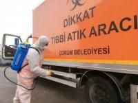 Tıbbi atıklara 'Koronavirüs' önlemi